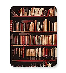 PosterGuy Bookshelves Geeky,Nerdy,Book,Booklovers,Gift For Book Lovers,Bookshelves Mouse Pad