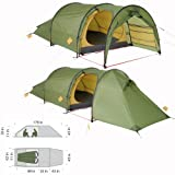 Exped Andromeda II Tent, Green, Outdoor Stuffs