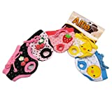 Alfie Pet Apparel - Zoe Diaper Dog Sanitary Pantie 5-Piece Set - Size: S (for Girl Dogs)