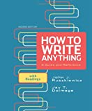 img - for How to Write Anything: A Guide and Reference with Readings book / textbook / text book