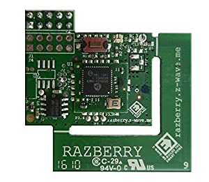 RaZberry2 Z-Wave Plus Daughter Card for Raspberry Pi Home Automation
