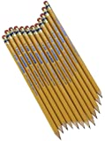 Write Dudes USA Gold Premium Cedar No. 2 Pre-Sharpened Pencils, 12-Count (DDR56)