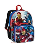 Marvel Captain America Civil War Full Size Mochila with Detachable Lunch Box