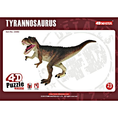4-D Puzzle T-Rex - Tyrannosaurus Dinosaur by TEDCO