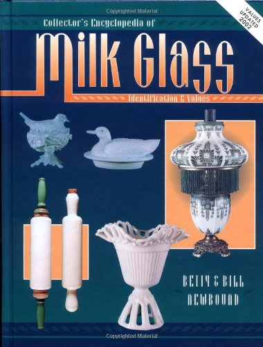 Collectors Encyclopedia Of Milk Glass Identification/Values