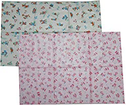 Bubbles Baby Bed Protector Plastic Changing Mat - Set of 3 (Children: L)