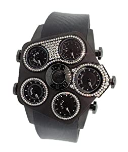 Jacob & Co. Jumbo Grand JGR5-23 Black PVD with Metallic Dials 52.5 mm Watch