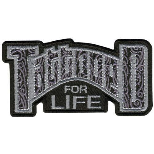Hot Leathers Tattooed For Life Patch (4