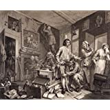 A Rake's Progress, by William Hogarth (V&A Custom Print)