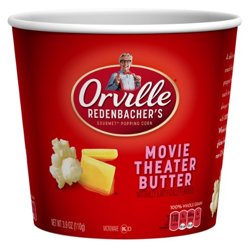 Orville Redenbacher Movie Theatre Tub, 3.9-Ounce Packages (Pack Of 6)