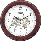 (シチズン/リズム時計) CITIZEN となりのトトロ 壁 掛け アナログ 時計 マックロクロスケ 4KG690MA06