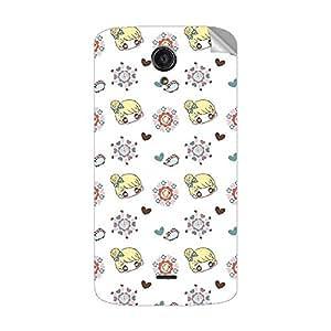 Garmor Designer Mobile Skin Sticker For XOLO OMEGA 5.5 - Mobile Sticker