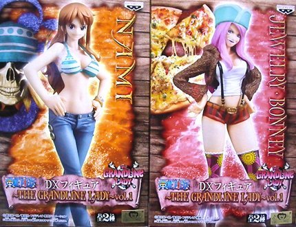 One Piece DX Figure THE GRANDLINE LADY vol.1 Nami & Jewelry Bonney (all set of 2) (japan import)