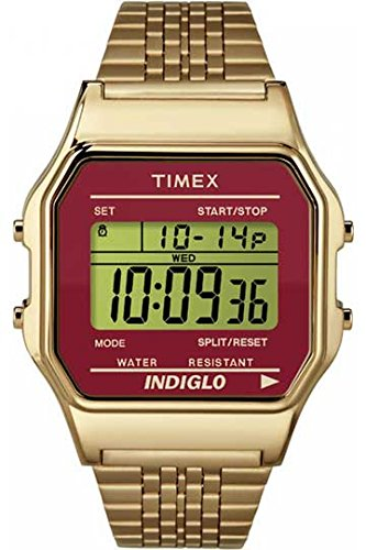 Timex Unisex Watch Quartz Stainless Steel Classic Digital TW2P48500