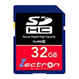 Canon Eos 550D DSLR Camera 32GB SD SDHC Class 10 Digital High Speed MEMORY CARD for Camera Camcorder Video and HD Video