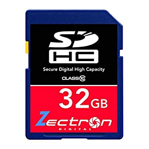 Nikon D90 DSLR Camera 32GB SD SDHC Class 10 Digital High Speed MEMORY CARD for Camera Camcorder Video and HD Video