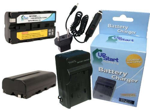 2X Pack - Yongnuo Yn160 Battery + Charger With Car & Eu Adapters - Replacement For Yongnuo Yn160 Led Video Light Battery And Charger (2200Mah, 7.2V, Lithium-Ion)