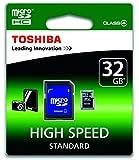Toshiba SD-C32GJ-6A Carte mémoire micro SDHC Classe 4 32 Go