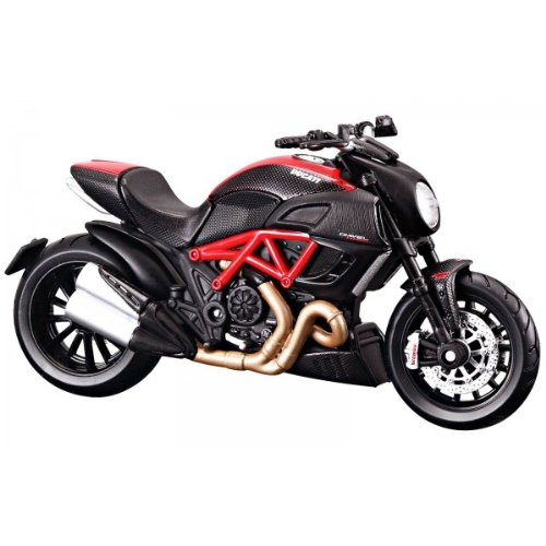 Maisto Ducati Diavel Carbon, Red