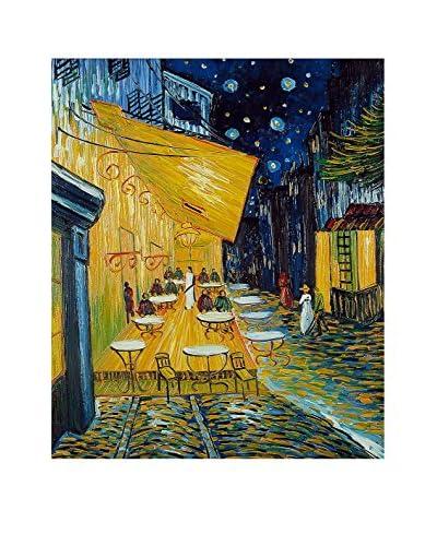 Arte Dal Mondo Ölgemälde auf Leinwand Van Gogh Caffè Terrazza