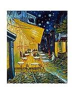 ZARTE DAL MONDO Pintura al Óleo sobre Lienzo Van Gogh Caffè Terrazza