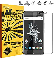 OnePlus X Tempered Glass, OnePlus X Screen guard, E LV OnePlus X ANTI-SHATTER Tempered Glass Screen Protector Scratch Free Ultra Clear HD Screen Guard for OnePlus X (Onyx)