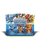 Figurine Skylanders : Spyro's adventure - Double Trouble + Whirlwind + Drill sergeant
