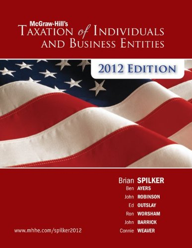Taxation of Individuals & Business Entities 2012e...