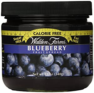 Walden Farms Blueberry Fruit Spread, 12 Ounce