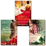 Kate Furnivall Collection 3 Books Set (The Jewel of St Petersburg, the white Pearl and the russian Concubine)