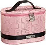 Belle Hop Luggage Vintage Glam Train Case, Pink, One Size