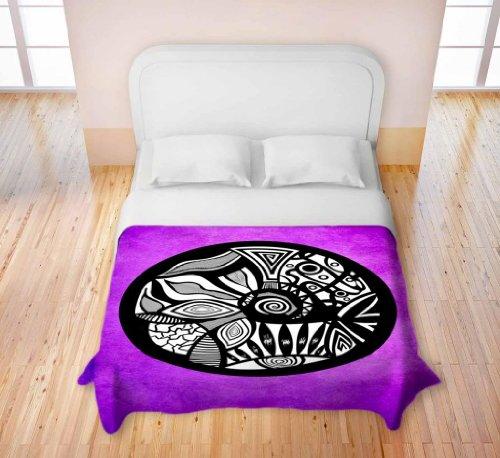 Purple Tie Dye Bedding 1907 front