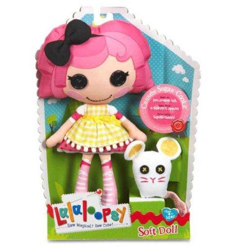 MGA Lalaloopsy Soft Doll - Crumbs Sugar Cookie
