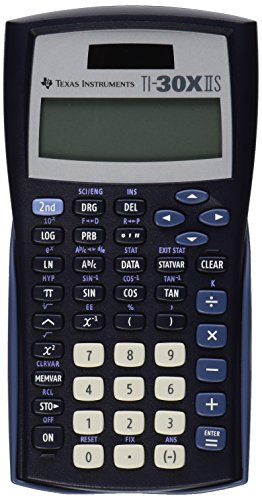 texas-instruments-ti-30x-iis-2-line-scientific-calculator-black-with-blue-accents