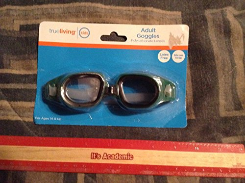 Adult Goggles Green - 1