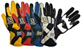 K1 Race Gear 40083220 Blue Large Pro X Driving Glove - Pair