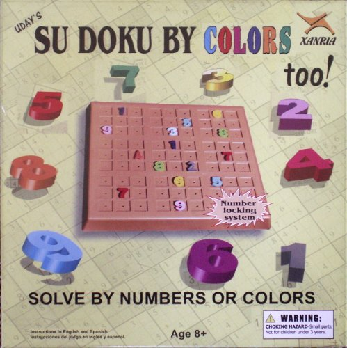 Xanria- Uday's Su Doku By Colors