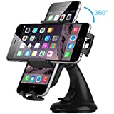 Car Mount Holder for iPhone 6s Plus 6s 5s 5c, Samsung Galaxy S6 Edge Plus S6 S5 from EC Technology