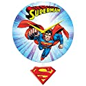 DC Comics Classic Superman Wall Clock (with Gift Box)