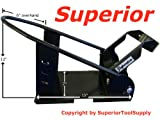 SuperiorTM Removable Motorcycle Self Locking Steel Wheel Chock