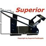SuperiorTM Removable Motorcycle Self Locking Steel Wheel Chock ~ Superior Supply