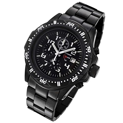 Armourlite Shatterproof Scratch Resistant High Impact Glass Tritium Chrono Watch