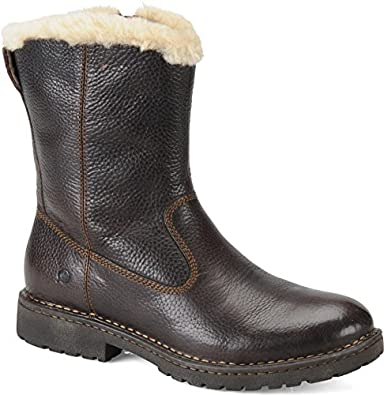 s born theodore shearling lined leather boots