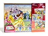 Disney Girls 3 Pack Wooden Puzzles in Wo...