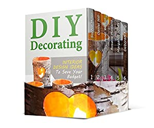 DIY Projects Box Set: 10 Best Wood Pallet Projects With Modern Upcycling Ideas Plus Interior Design Ideas To Save Your Budget! (DIY Projects Box Set, diy household, Organize Your Home)