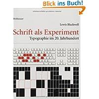 Schrift als Experiment