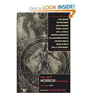 Best Horror of the Year, Vol. 1 by Ellen Datlow