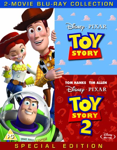 Toy Story/Toy Story 2 [Blu-ray]