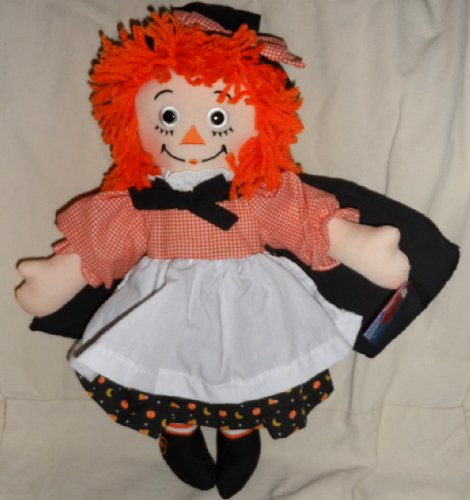 """15"""" Halloween Raggedy Ann with Witch Outfit By Dakin"""