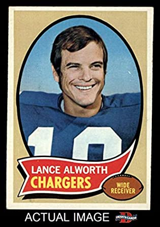 Amazon.com: 1970 Topps 240 Lance Alworth Excellent-Mint: Collectibles